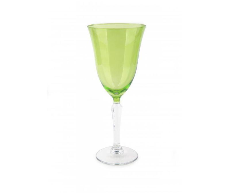 Kozarec na peclju Crystal Wine Green 320 ml