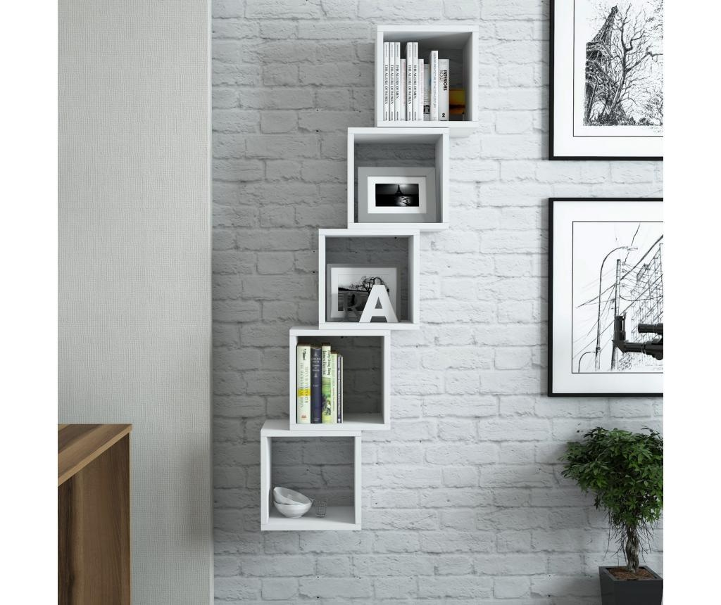Set 5 rafturi de perete