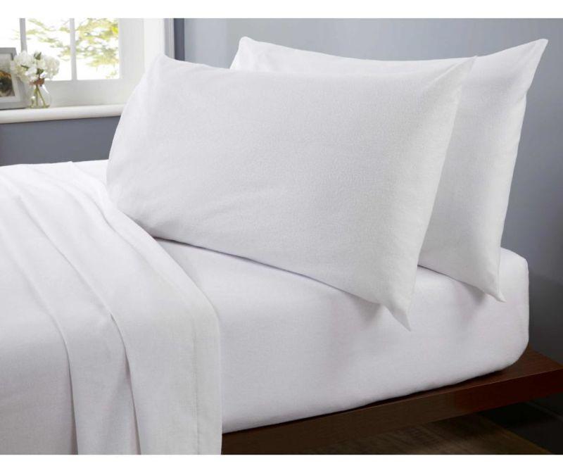 Rjuha z elastiko Double Flannelette White