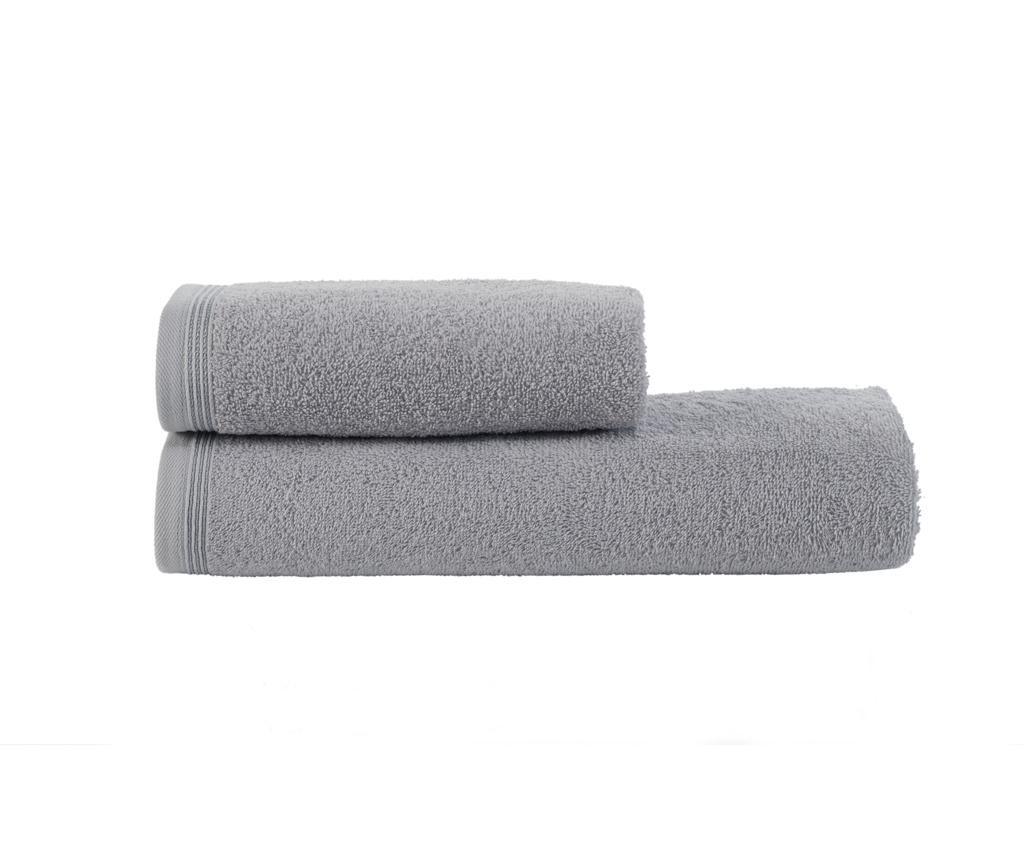 Set 2 ručnika Classic Grey