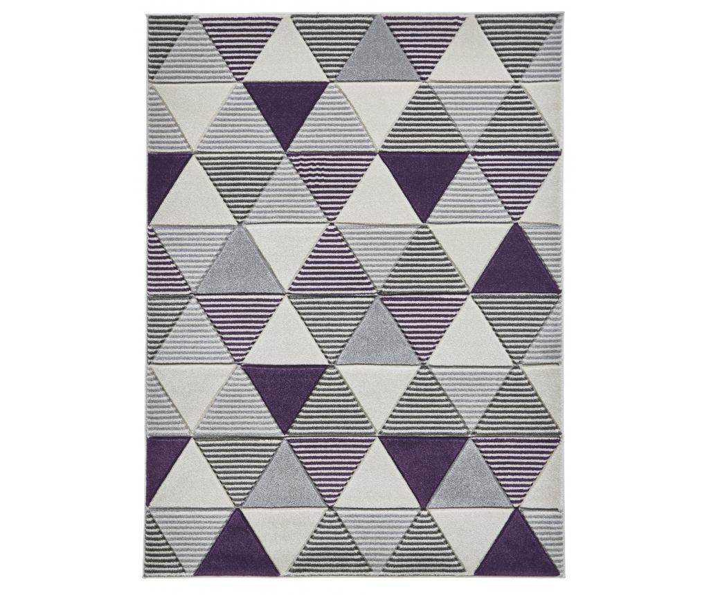 Matrix Grey Purple Szőnyeg 120x170 cm