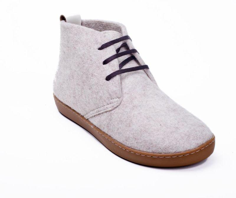 Dámské kotníkové boty BlasWool Cream 40