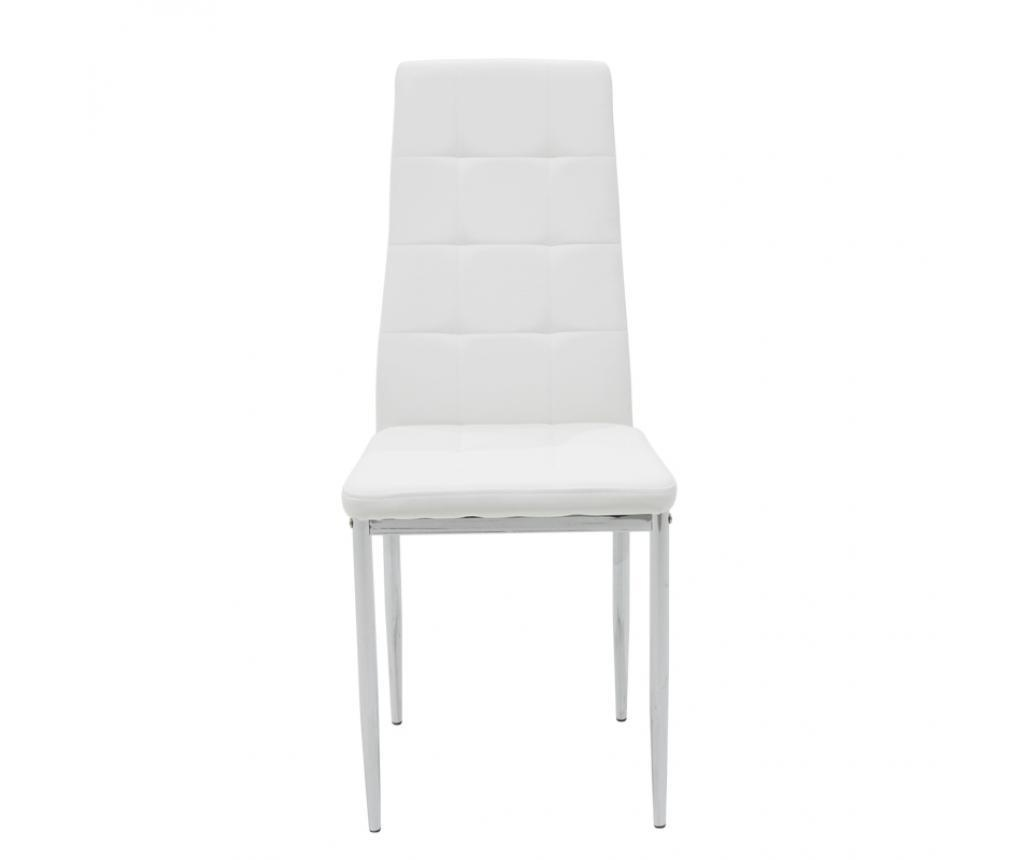 Stolica Cube White