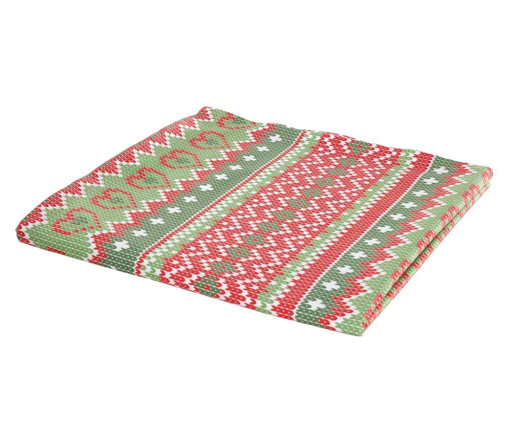 Christmas Hearts Asztalterítő 75x75 cm