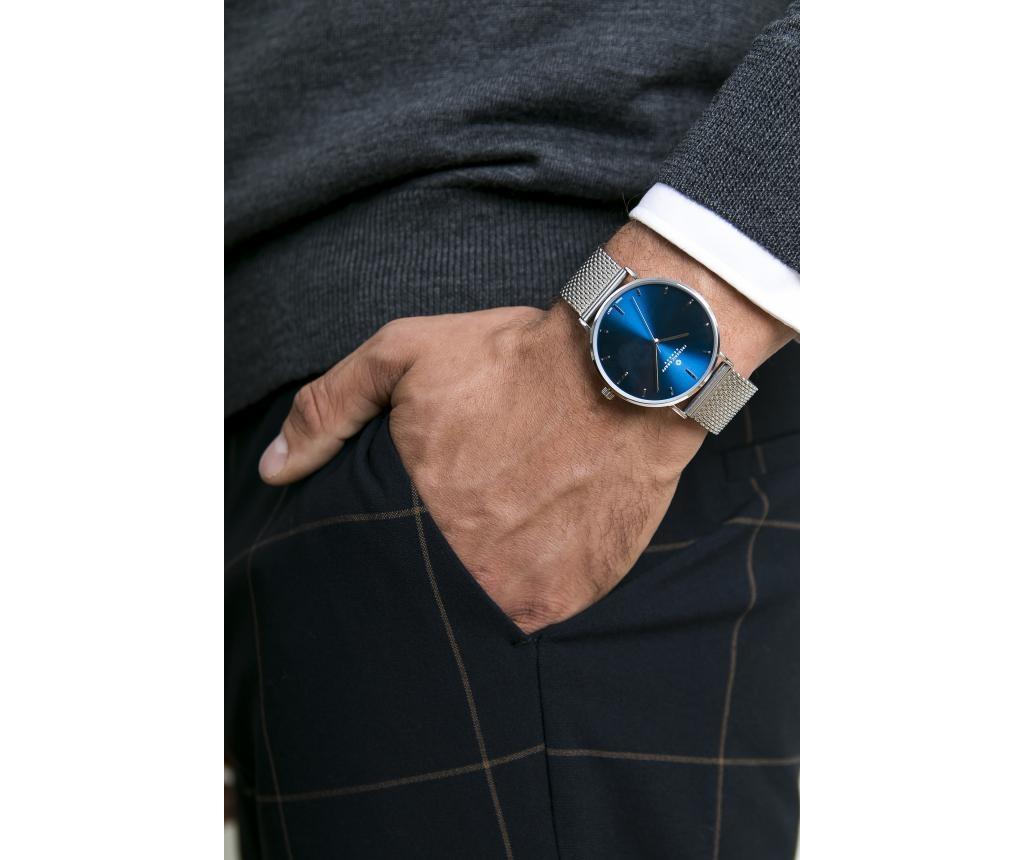 Ръчен мъжки часовник Silver Mont Fort