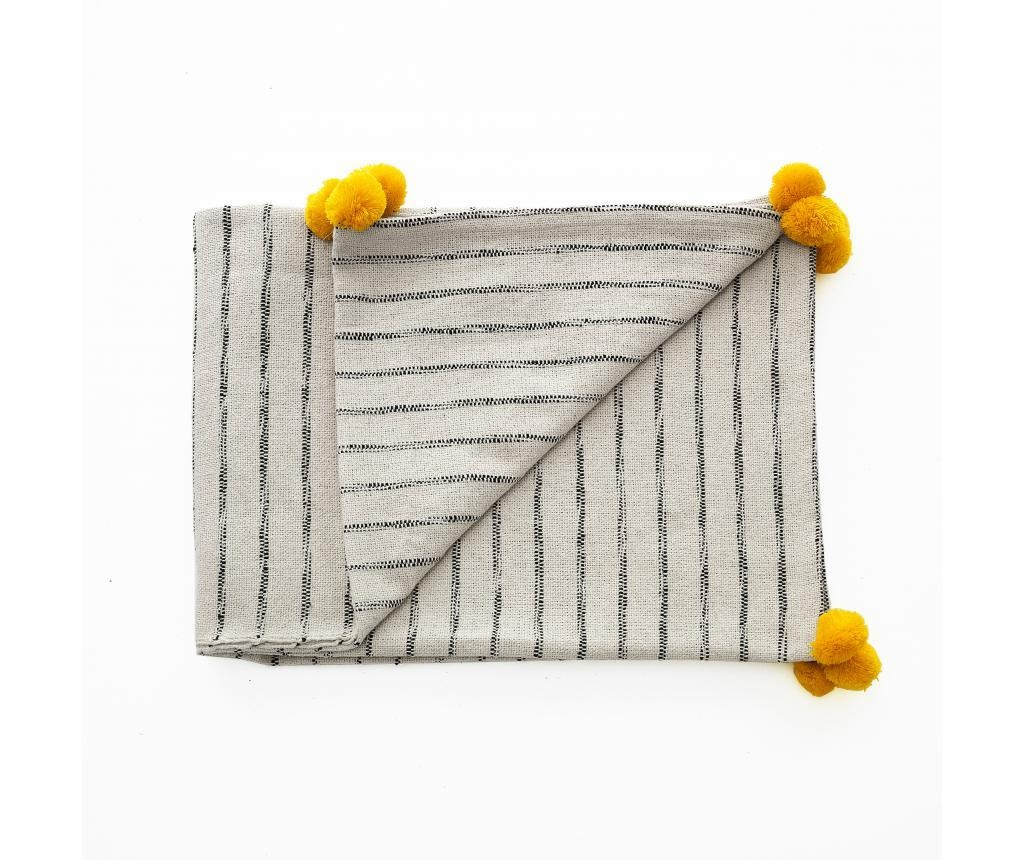 Odeja Stripe-A Yellow