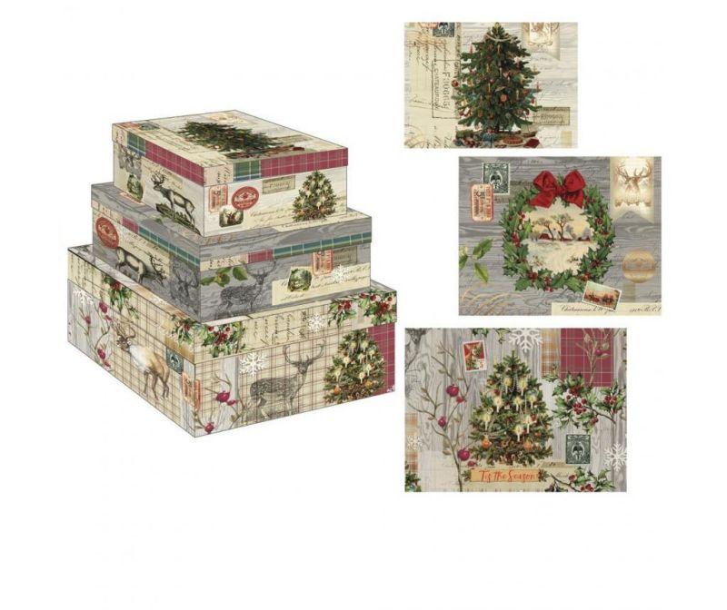 Set 3 kutije Christmas