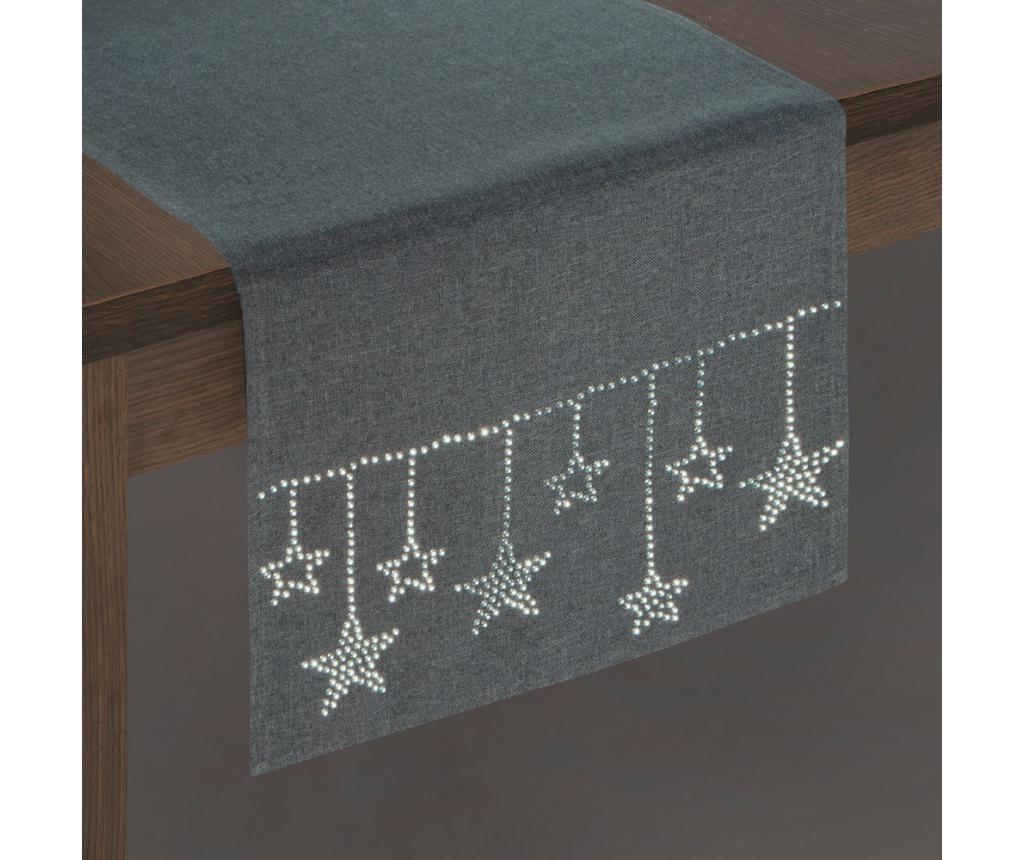Nadstolnjak Grey Stars 33x180 cm