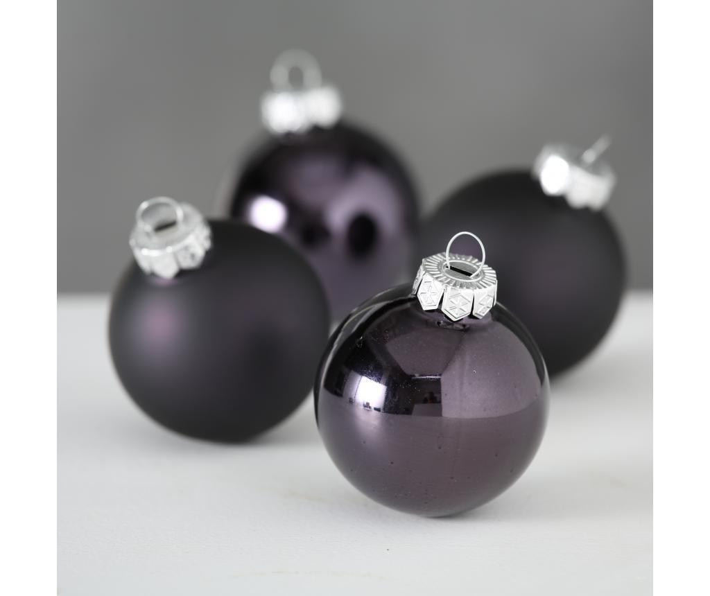 Set 10 božičnih okraskov Grey