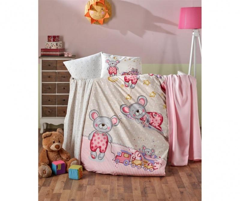 Posteljina za krevetić Edy Girl