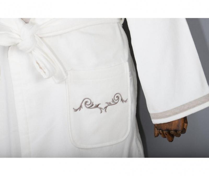 Ženski kupaonski ogrtač Hera Cream XL