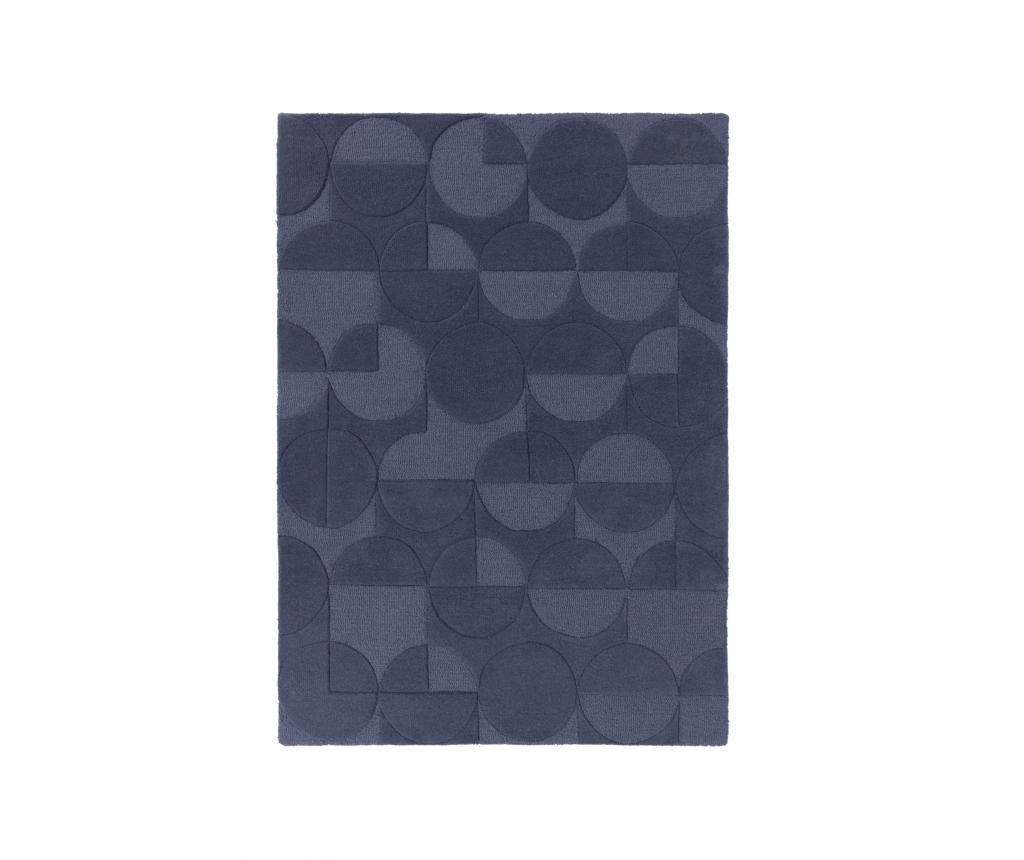 Covor Moderno Gigi Denim Blue 200x290 cm - Flair Rugs, Albastru