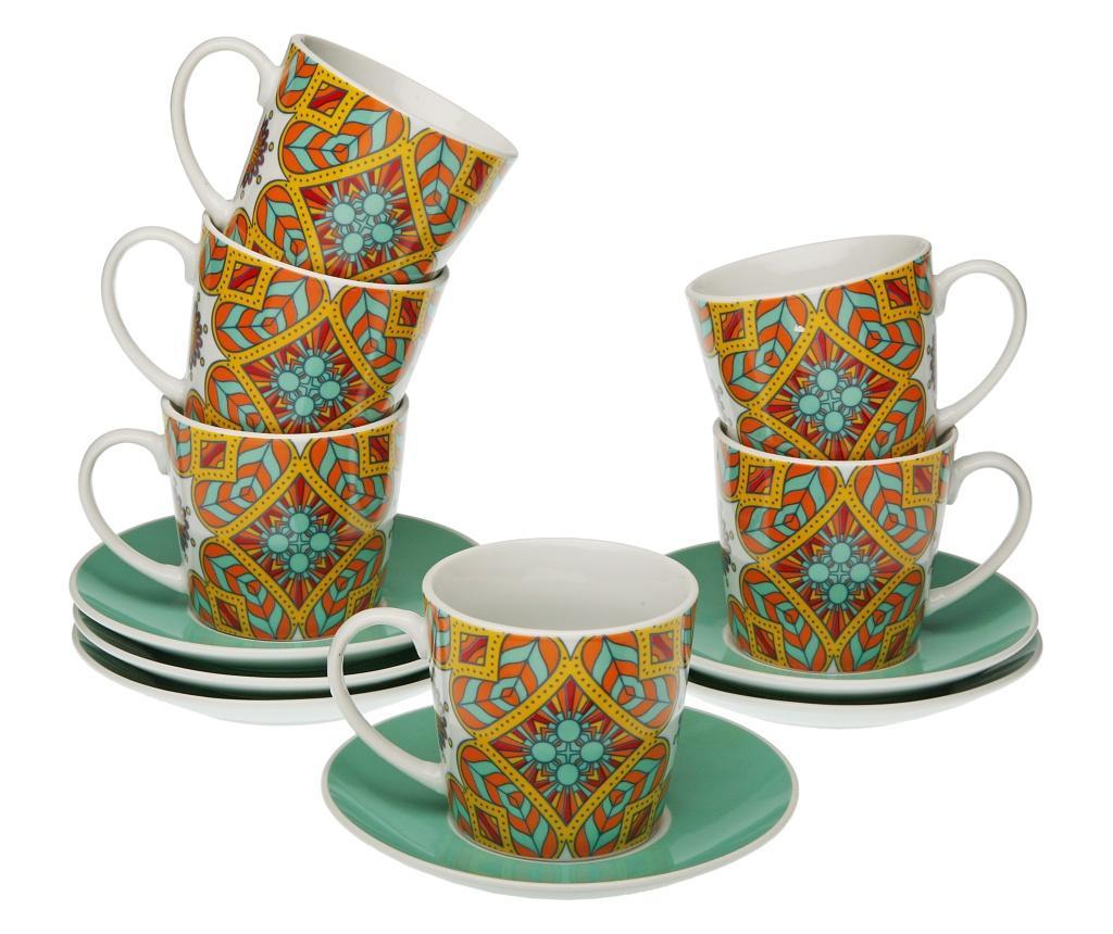 Set 12 piese pentru ceai - Versa, Multicolor