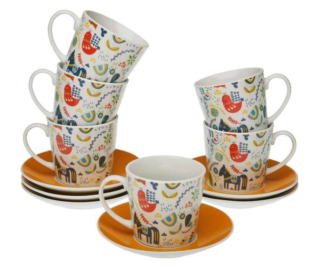 Set 12 piese pentru cafea - Versa, Multicolor