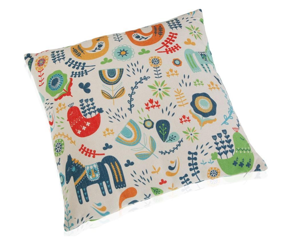 Perna decorativa 45x45 cm - Versa, Multicolor