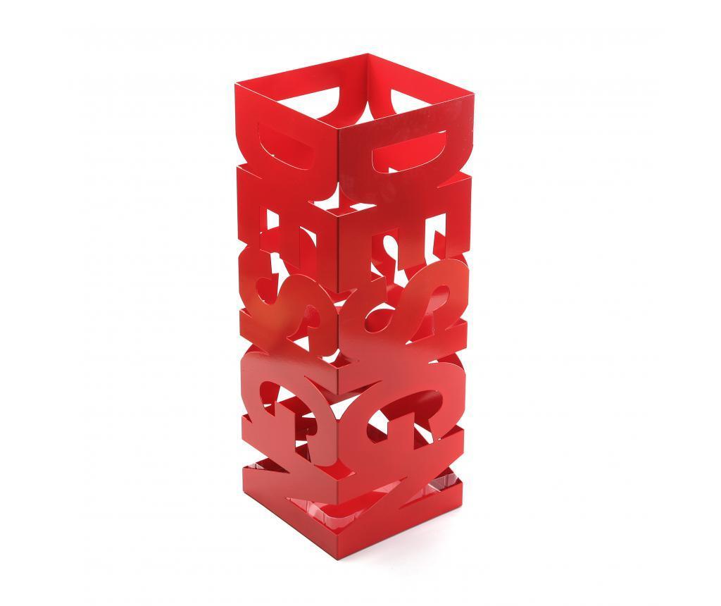 Suport pentru umbrele Design Red - Versa, Rosu