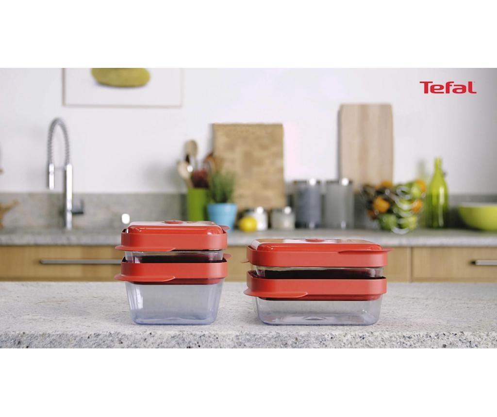 Set 2 škatel za hrano Tefal Masterseal 1 L