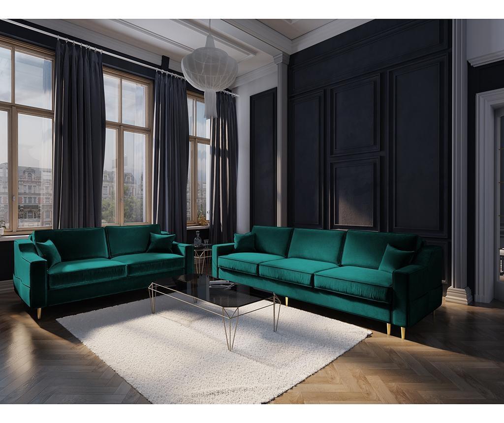 Sofa trosjed na razvlačenje Marigold Bottle Green