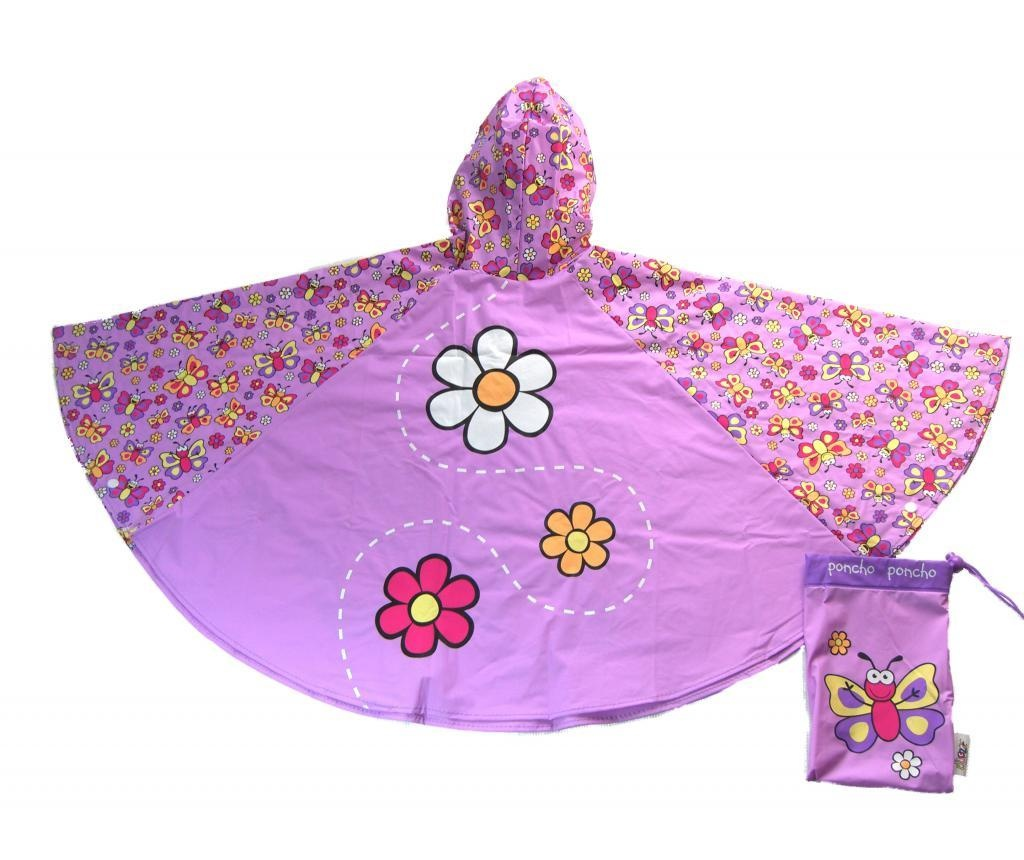 Dětská pláštěnka Butterfly 3-6 r.