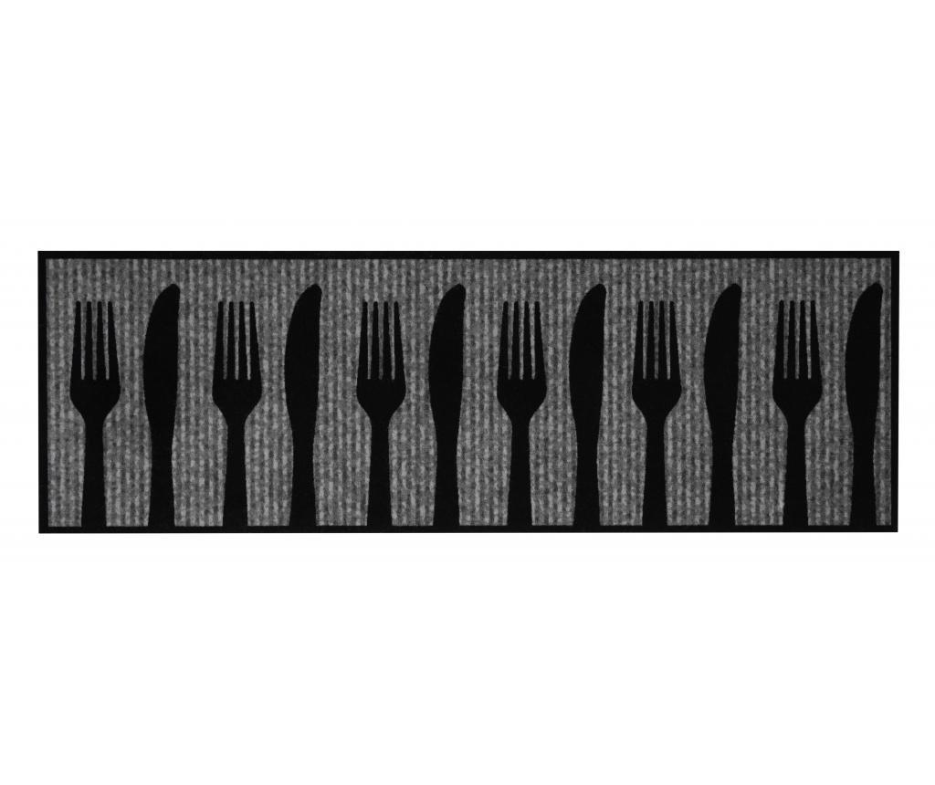 Shadow Silverware Konyhai futó 50x150 cm