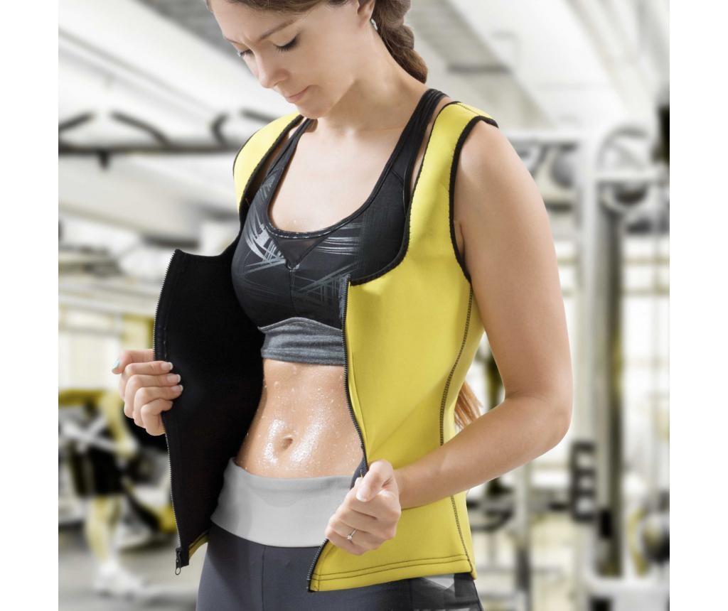 Vibrirajoči ženski brezrokavnik z učinkom savne XL