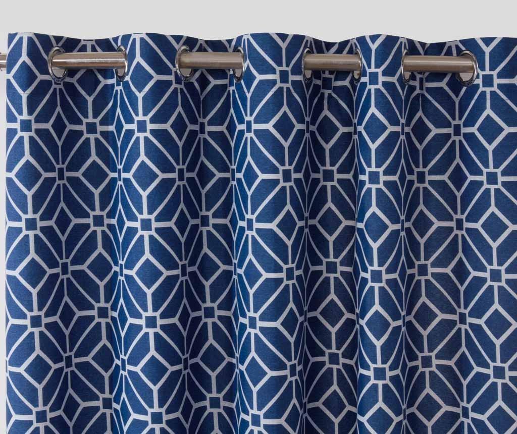Set 2 zaves Kelso Blue 117x183 cm