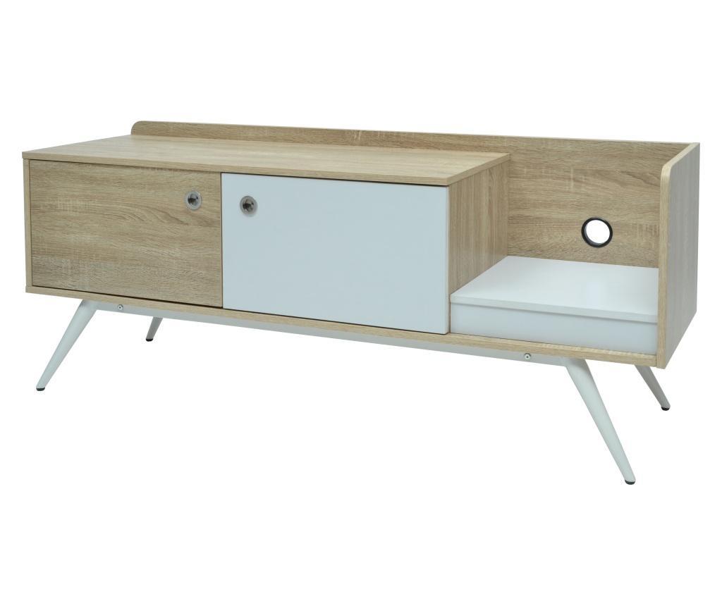 Comoda TV - More Design, Alb,Crem