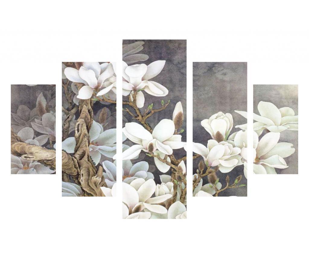 Set 5 tablouri - Destiny, Multicolor