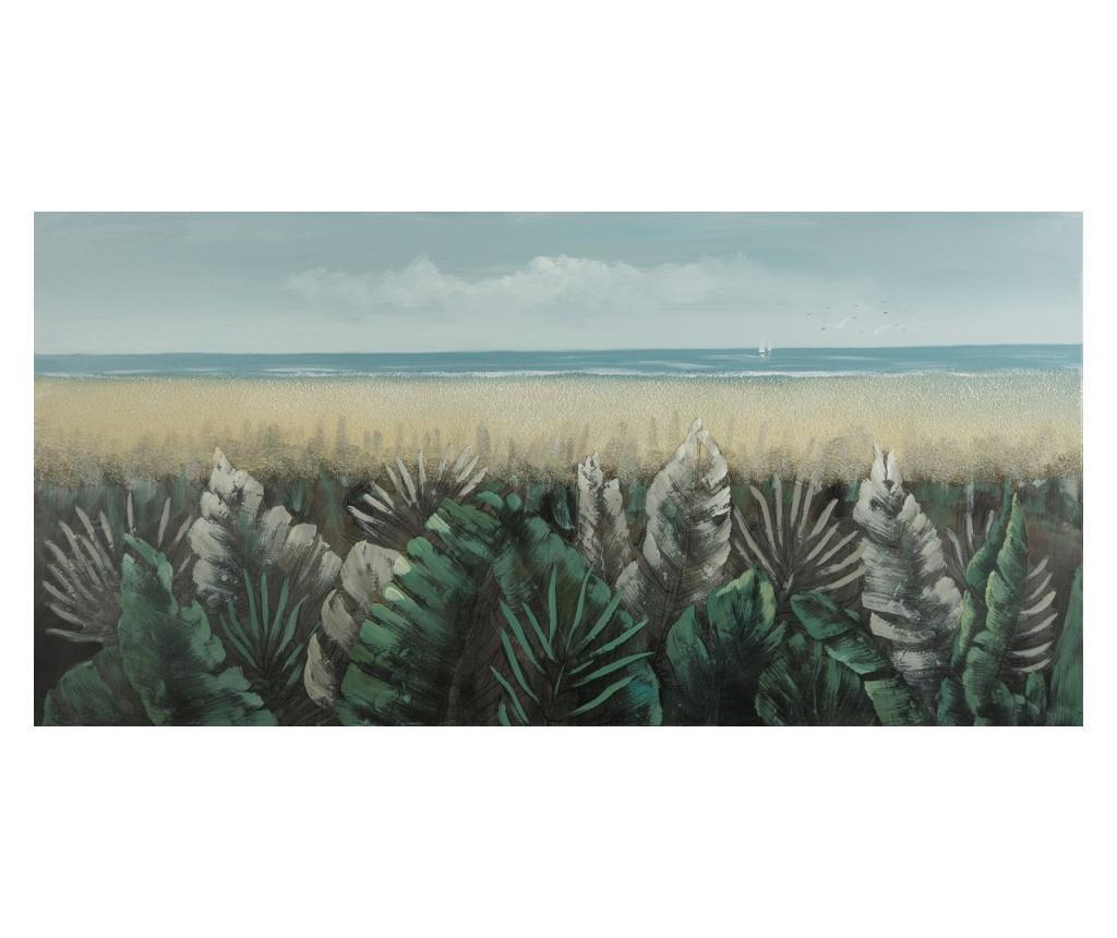 Tablou Wind 60x120 cm - Eurofirany, Albastru