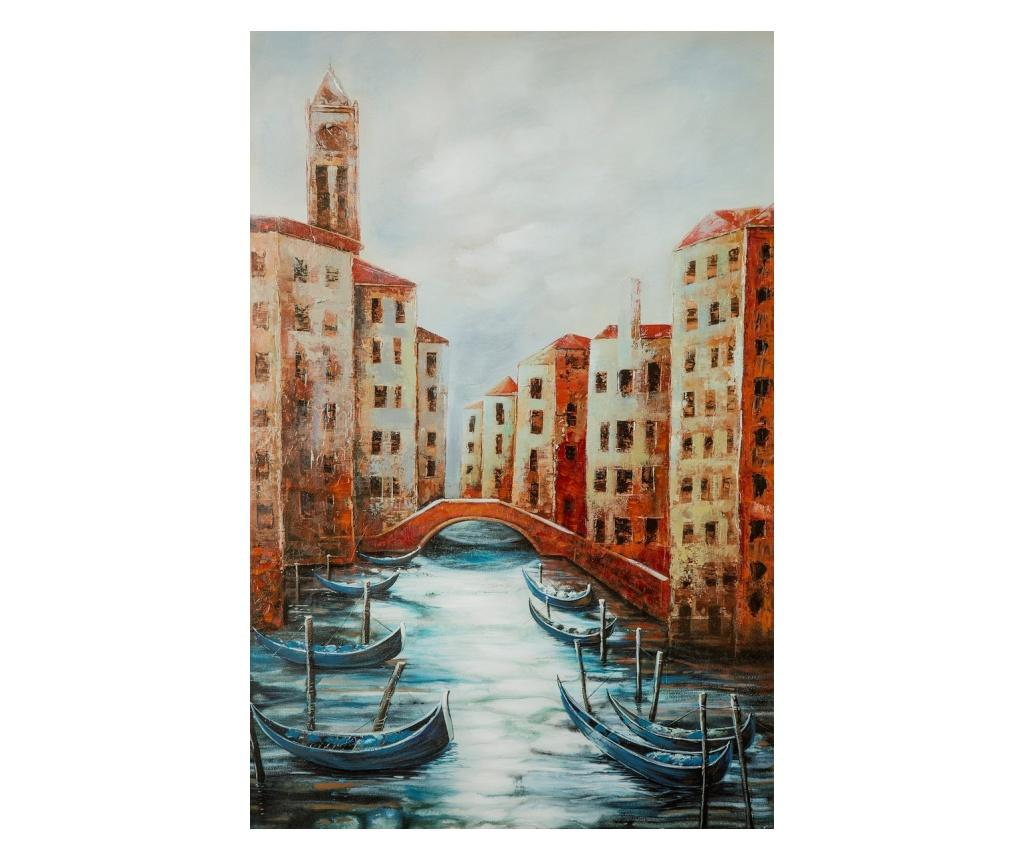 Tablou Venice 60x90 cm - Eurofirany, Rosu