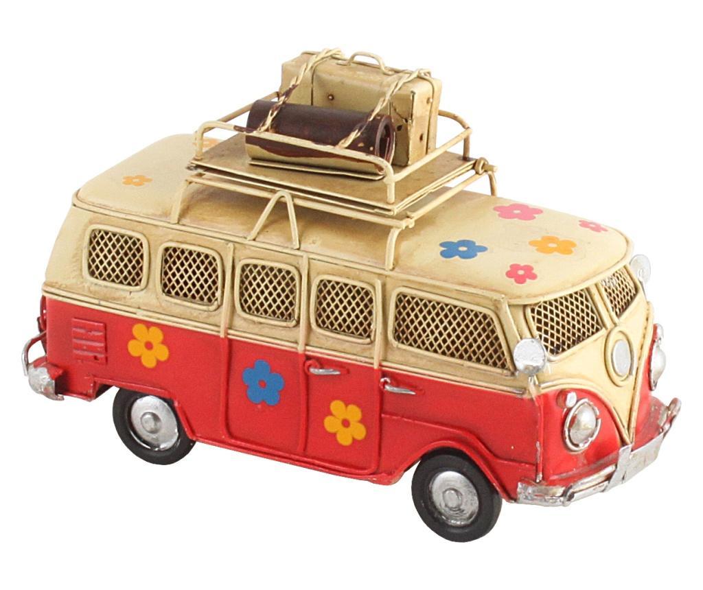 Decoratiune Metal Bus - inart, Galben & Auriu