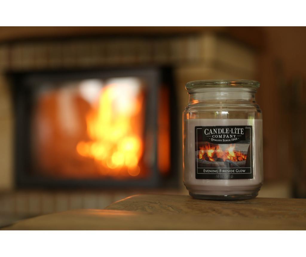 Evening Fireside Glow Illatgyertya