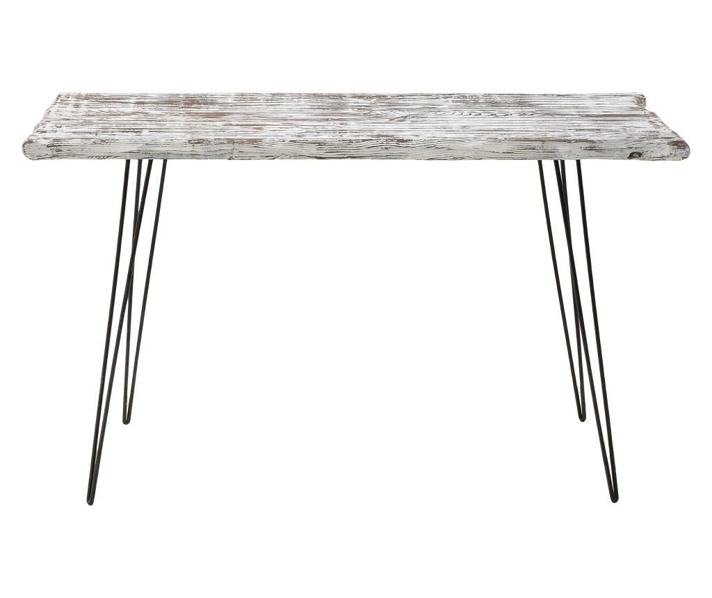 Antique White & Black Asztal