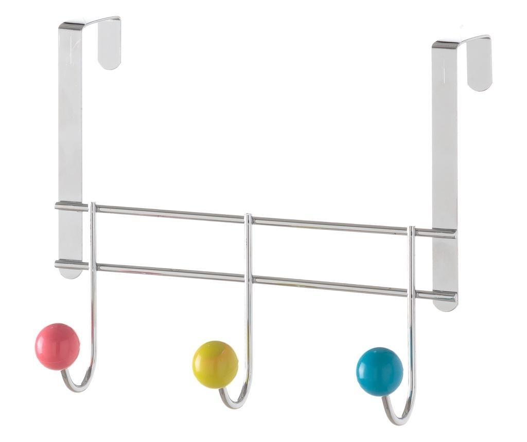 Vješalica za vrata Three Multicolour