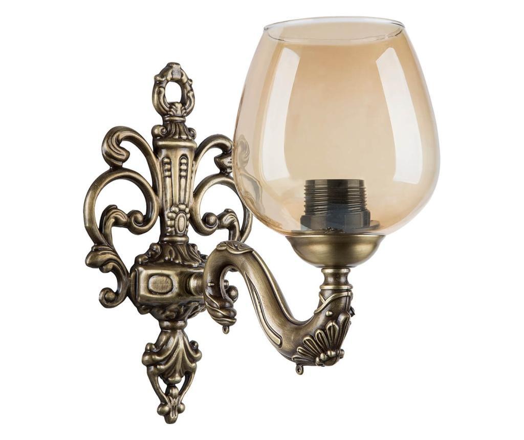 Aplica de perete - Squid lighting, Galben & Auriu