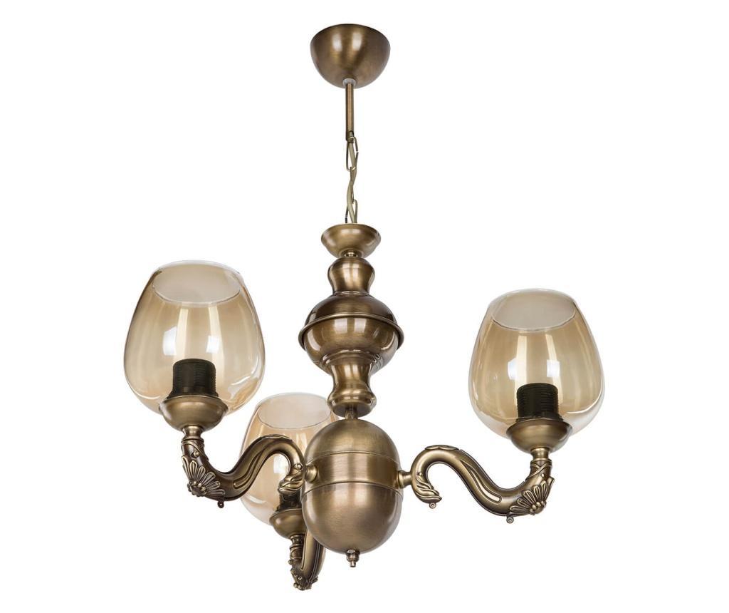 Candelabru - Squid lighting, Galben & Auriu
