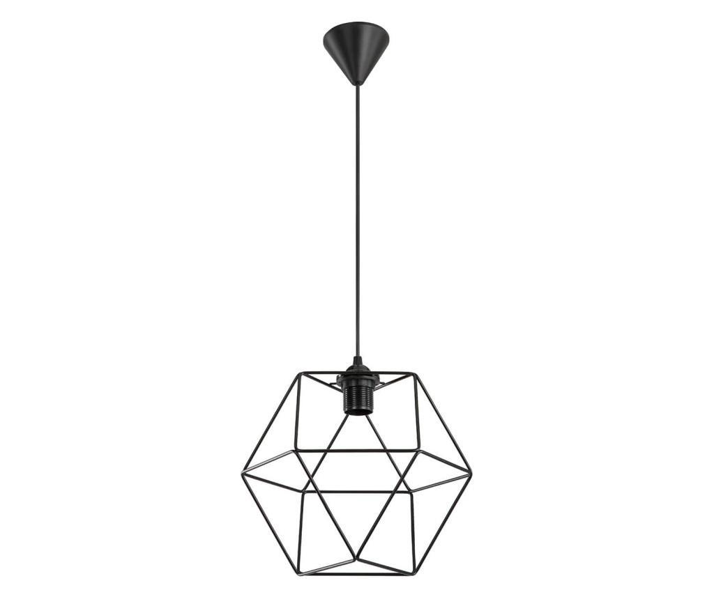 Lustra Angles - Squid lighting, Negru