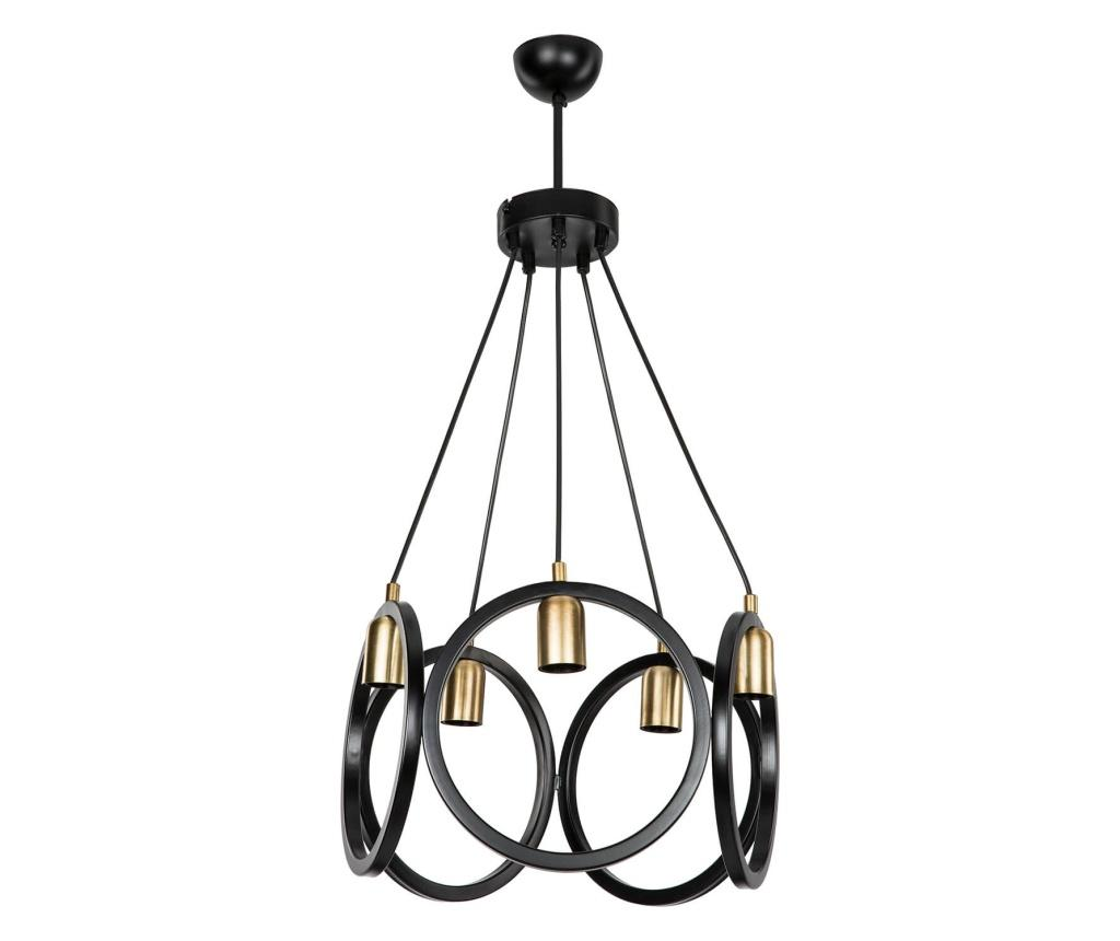 Candelabru - Squid lighting, Negru