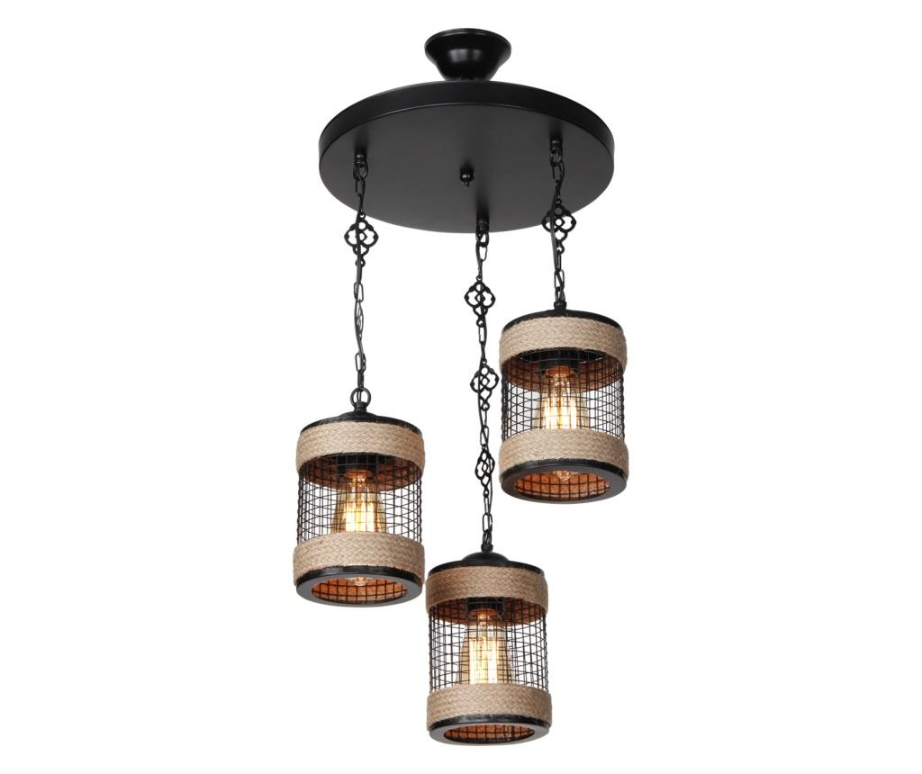 Lustra Ilayda Three - Squid lighting, Negru