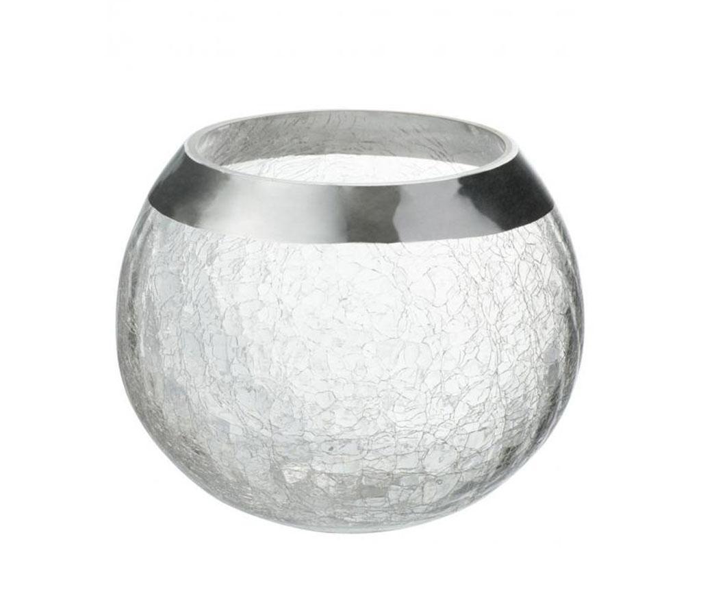 Suport pentru lumanare M - J-line, Gri & Argintiu