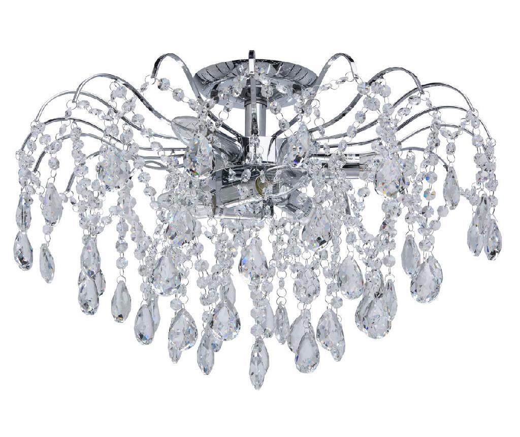 Candelabru Venezia - Classic Lighting, Gri & Argintiu