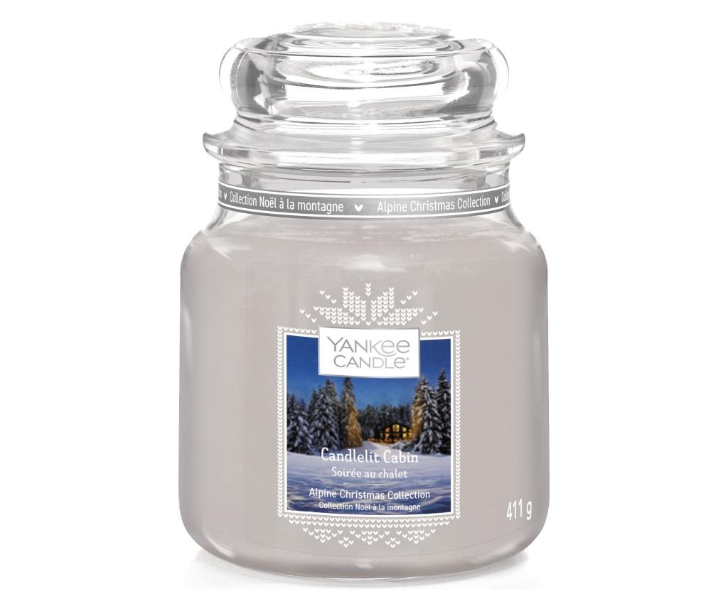 Lumanare parfumata Cabin - Yankee Candle, Multicolor