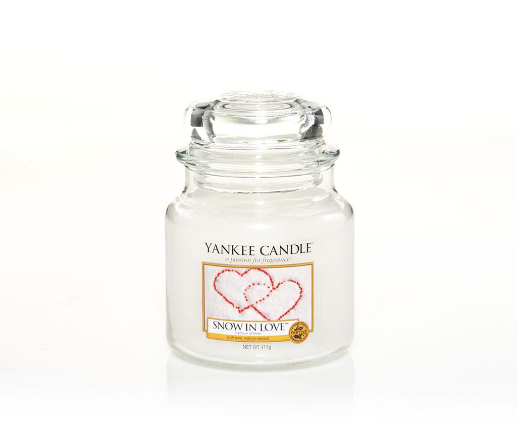 Lumanare parfumata Snow in love - Yankee Candle, Multicolor