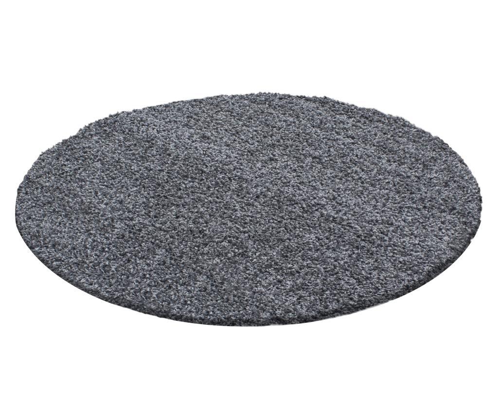 Covor Life Grey 120x120 cm - Ayyildiz Carpet, Gri & Argintiu