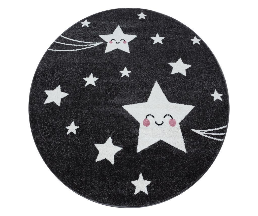 Covor Kids Grey 160x160 cm - Ayyildiz Carpet, Gri & Argintiu