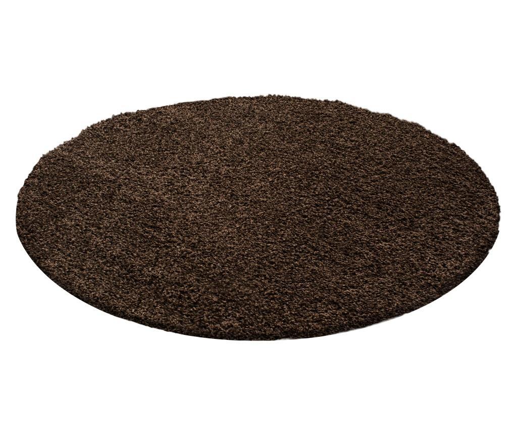 Covor Life Brown 160x160 cm