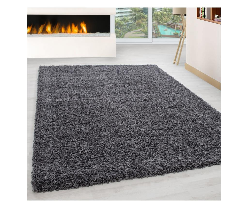 Covor Life Grey 60x110 cm - Ayyildiz Carpet, Gri & Argintiu de la Ayyildiz Carpet