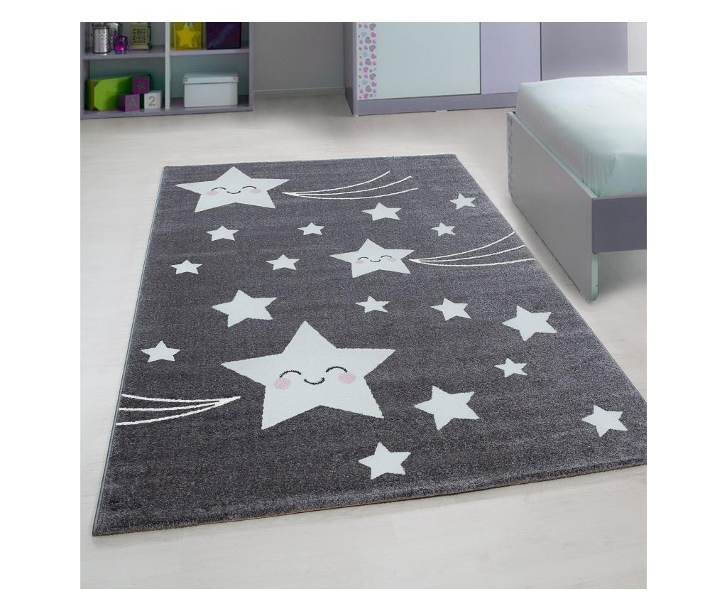 Covor Kids Grey 80x150 cm - Ayyildiz Carpet, Gri & Argintiu