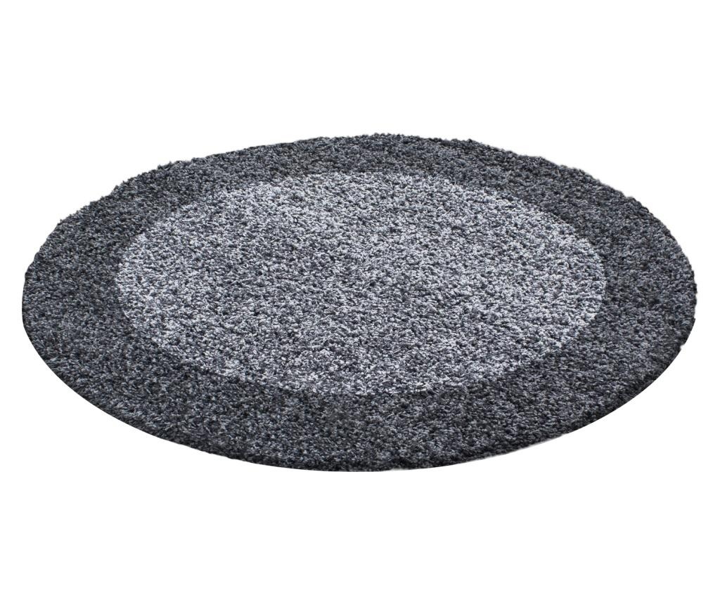 Covor Life Grey 200x200 cm - Ayyildiz Carpet, Gri & Argintiu