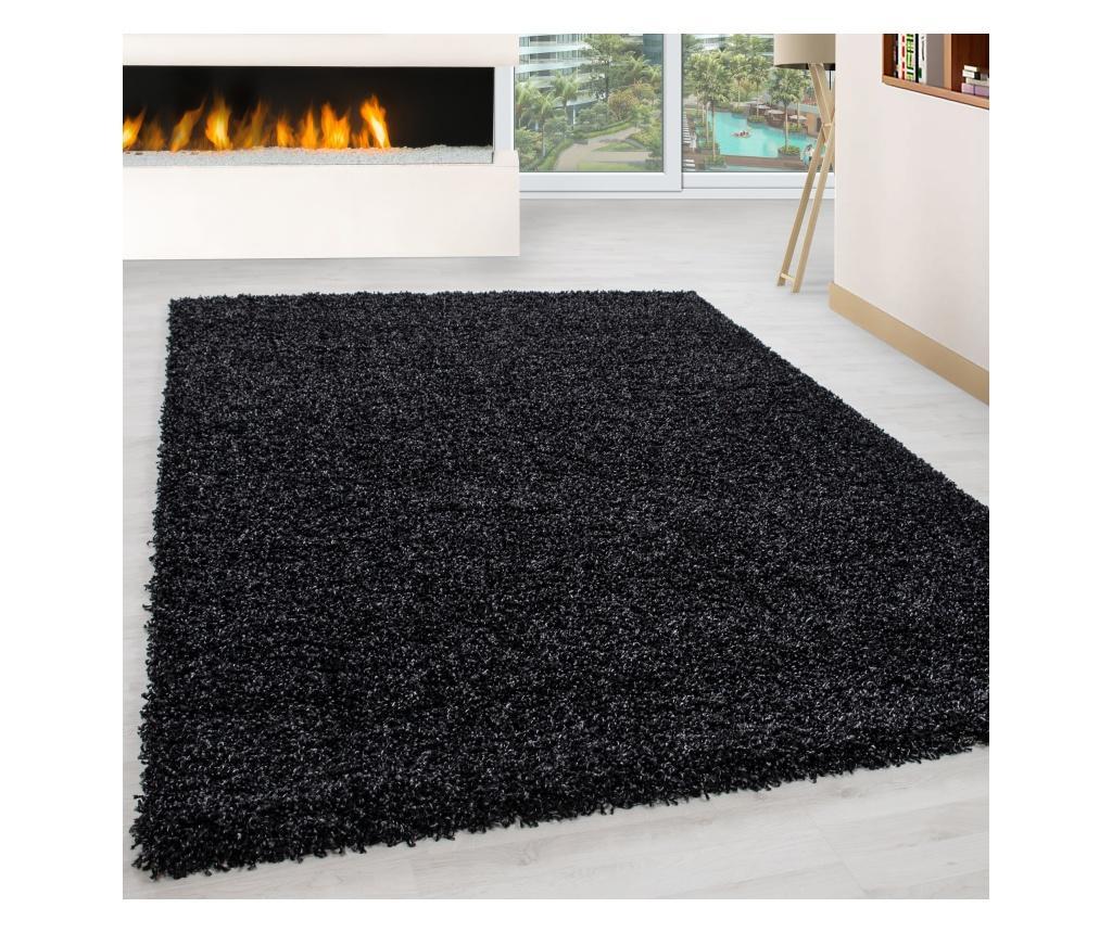 Covor Life Anthrazit 80x250 cm - Ayyildiz Carpet, Gri & Argintiu